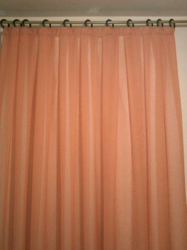 Cortinas for Aros de plastico para cortinas